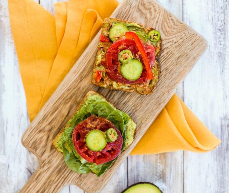 Hearty Avocado Sandwich