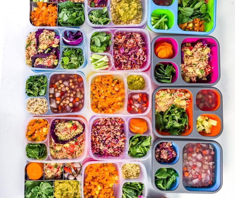 Weight Loss Vegan Meal Prep