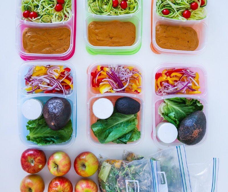 Three-Day Raw Vegan Meal Prep