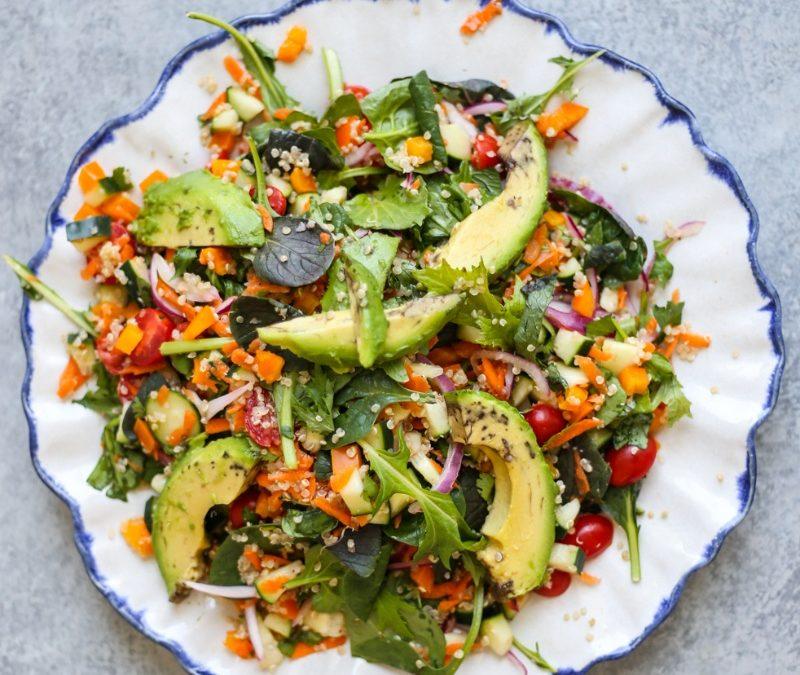 Raw Vegan Laxative Salad