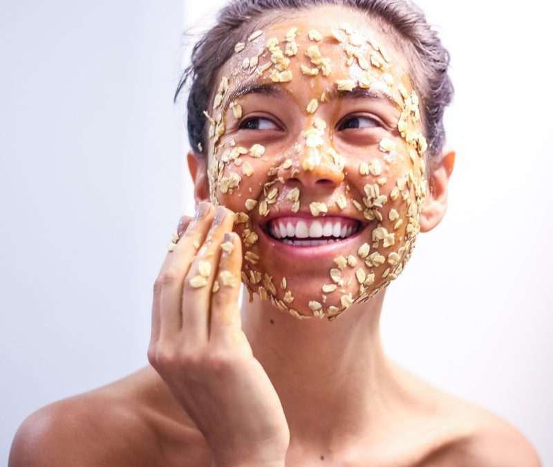 Oatmeal Mask for Glowing Skin