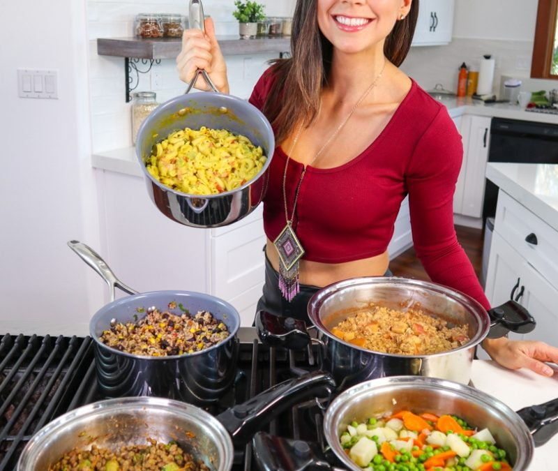 One Pot Meals Prep in 30 minutes