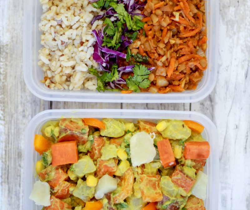 Two Vegan Lunches To Go