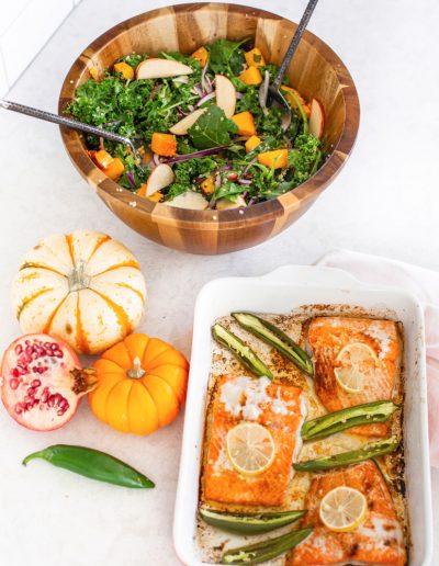 salmon salad ingredients
