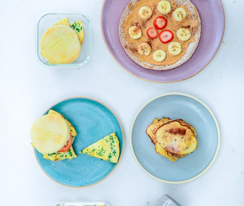 5 Breakfast Ideas for the Week