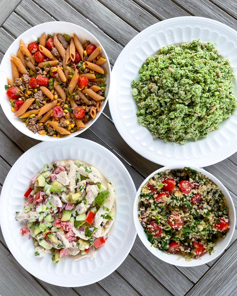 easy and healthy salads